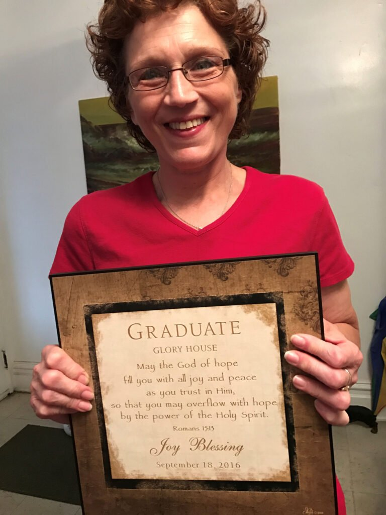 Joy Blessing Glory House Graduate