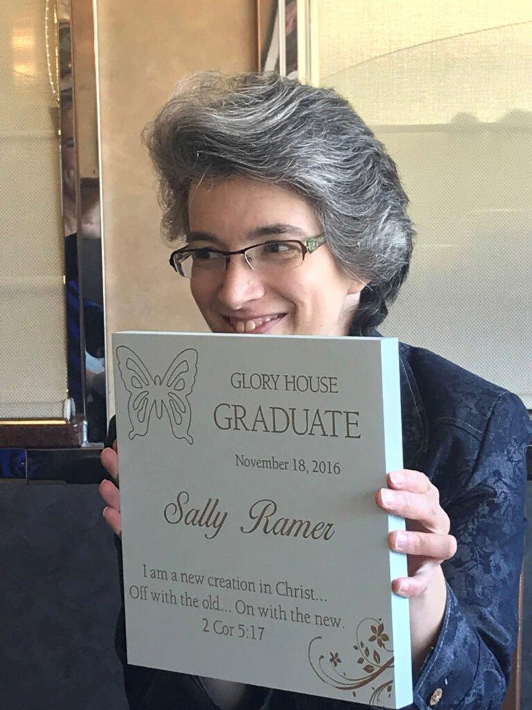 Sally Ramer Glory House Graduate